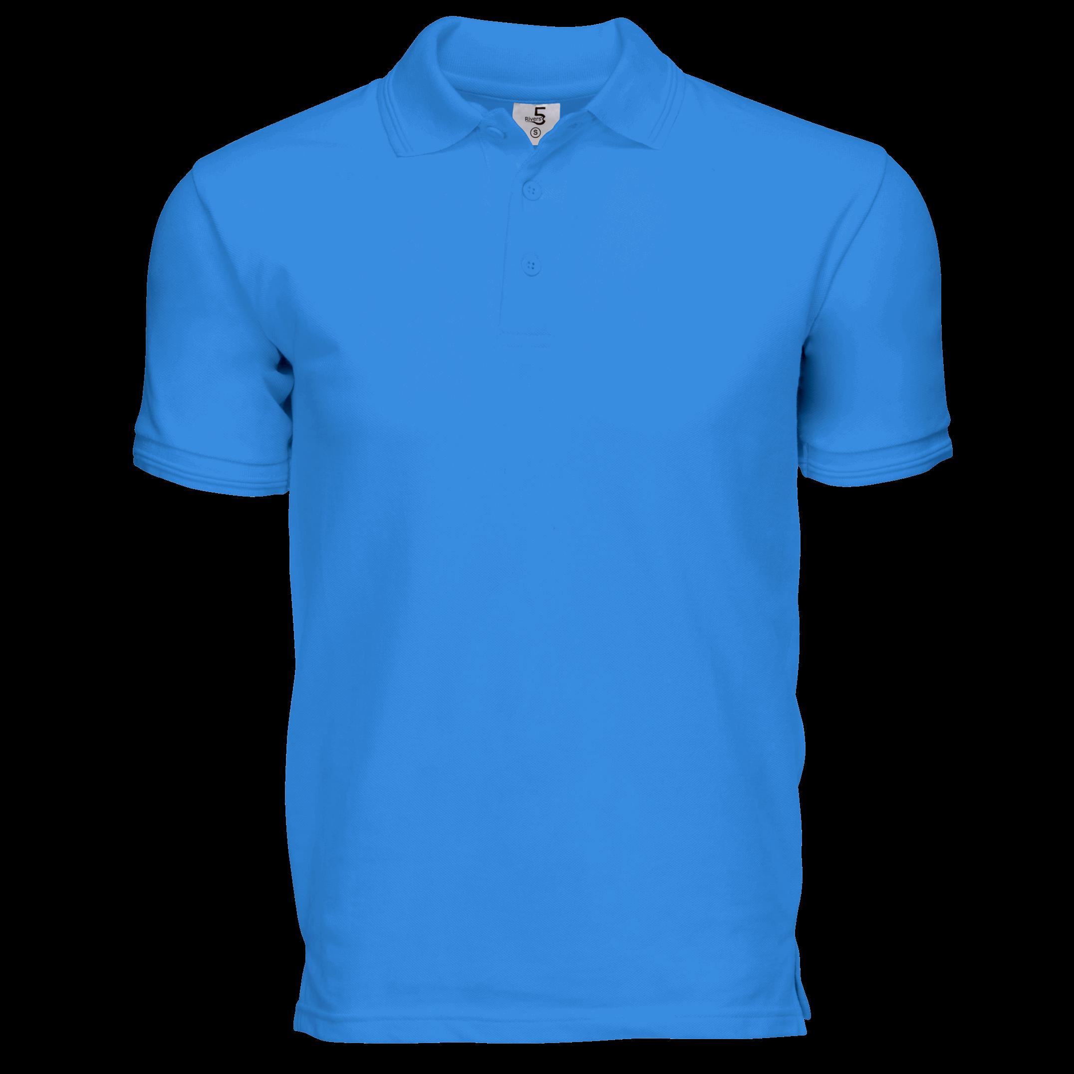 Pique Cotton Blue