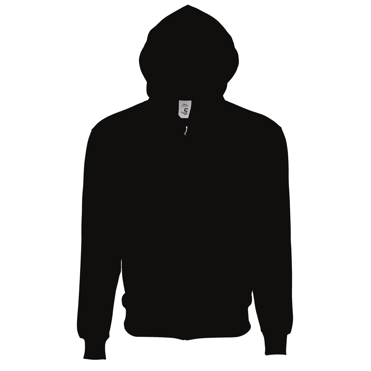 Fleece Zipper Black