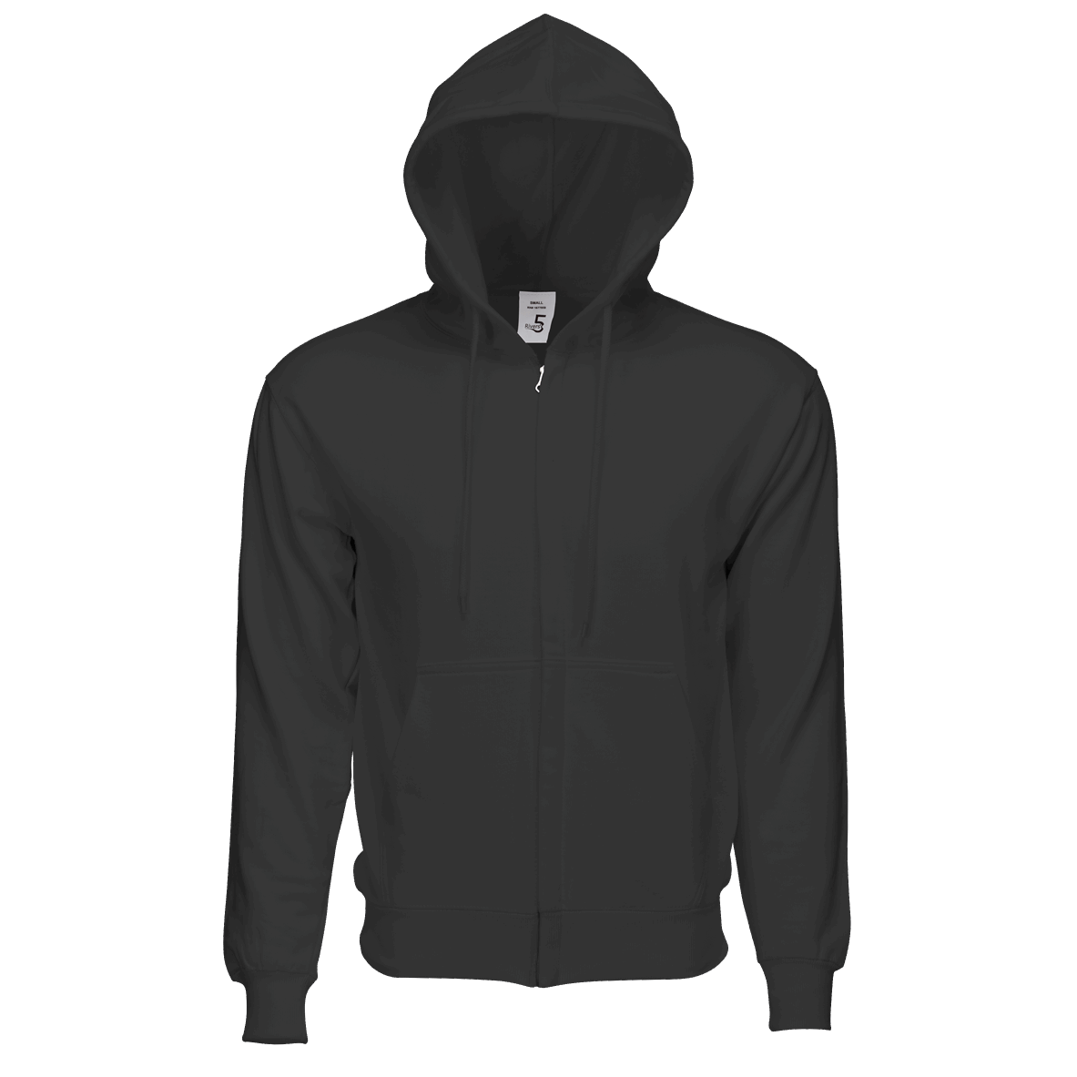 Fleece Zipper Charcoal