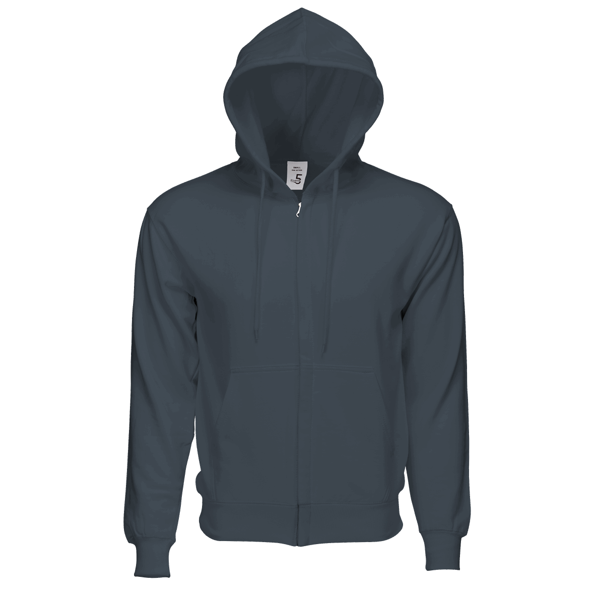 Fleece Zipper Dark Grey