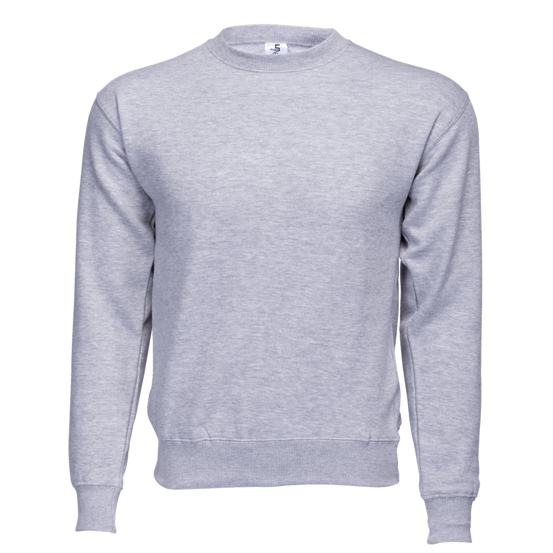 Fleece Crew Neck Grey