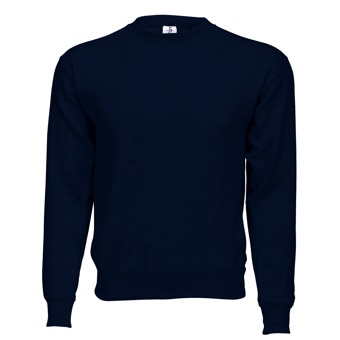 Fleece Crew Neck Navy Blue