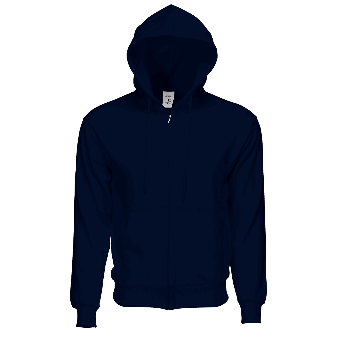 Fleece Zipper Navy Blue