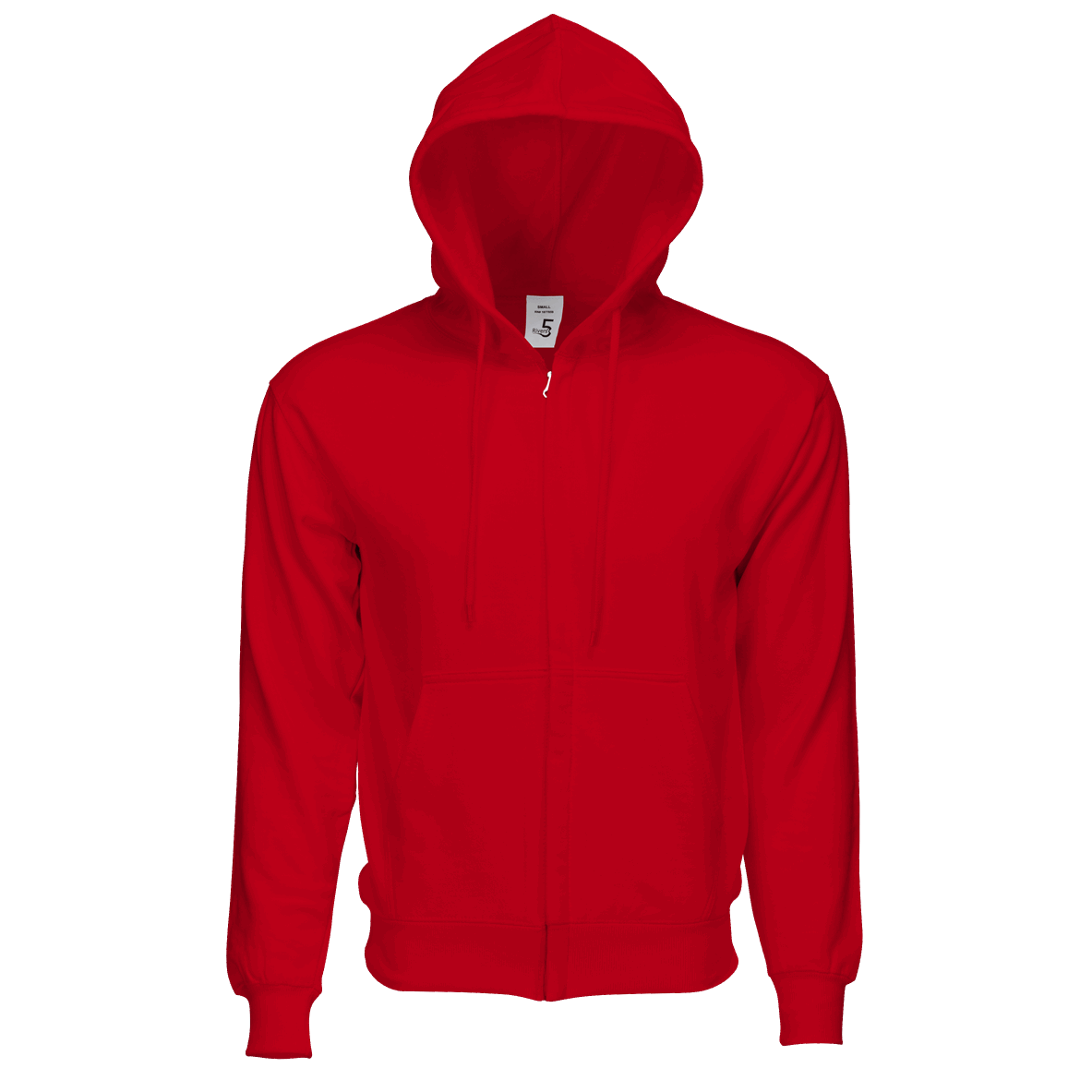 Fleece Zipper Red