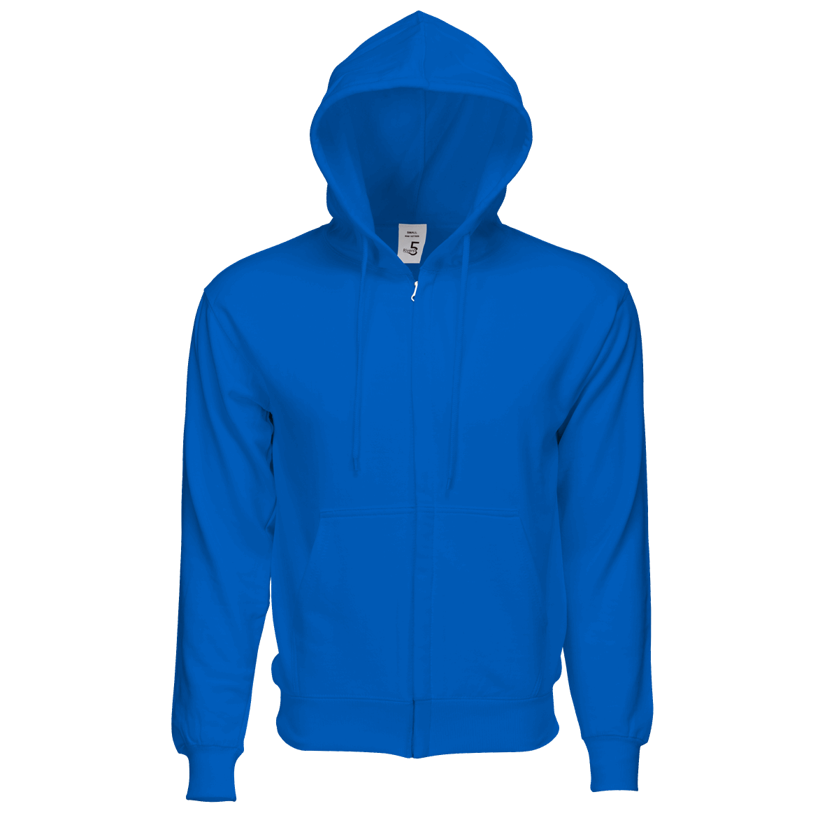Fleece Zipper Royal Blue
